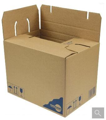 versand karton multicargo din a4 quick lock 320x230x235mm. Black Bedroom Furniture Sets. Home Design Ideas
